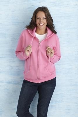 Gildan Heavy Blend Ladies' Full Zip Hooded Sweater