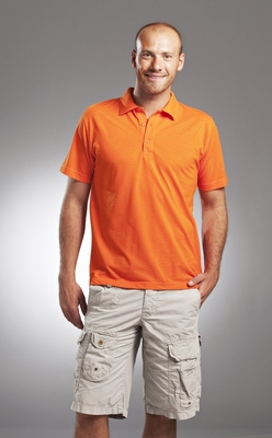 L&S Basic Mix Polo for him