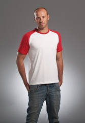 L&S T-shirt Baseball S/S