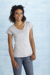 Gildan SoftStyle Ladies' V-Neck