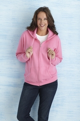 Gildan Heavy Blend Ladies' Full Zip Hooded Sweater