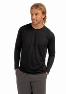 Hanes Men's Long Sleeve T-shirt sports