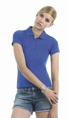 Poloshirt B&C Safran pur woman