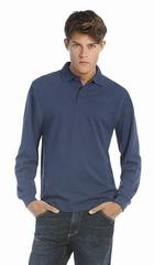 Poloshirt B&C Heavymill LSL